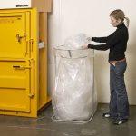 Recyling rack