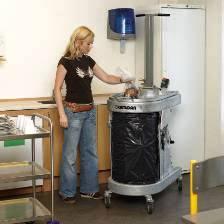 Bramidan Bag Press for compacting wet waste supplied by Kenburn