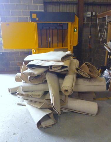 Carpet Craft Waste Offcuts - Kenburn Carpet Crusher