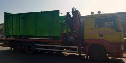 Avermann 20P loaded for delivery