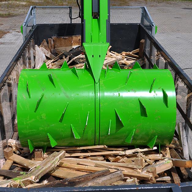 BJRP compacting wood